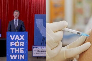 Incentivo económico no hizo que la gente de California se vacunara