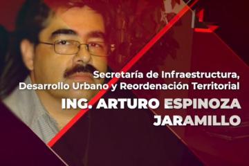 Arturo Espinoza Jaramillo es nombrado secretario de...