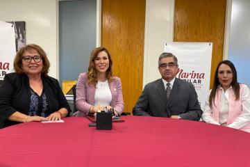Governor-elect, Marina del Pilar, presents more cabinet members in...