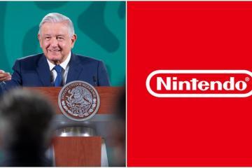 """AMLO critica a """"Nintendo"""" y videojuegos por ser violentos"""