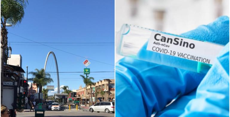 Baja California monitors those vaccinated with Cansino so that they...