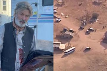 Alec Baldwin mata accidentalmente a una mujer durante el rodaje de...