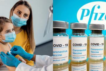 Vacuna para niños de 5 a 11 años de Pfizer es 91% efectiva