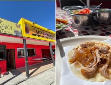 Taqueria delights Tijuana with its carnitas taco in flour tortillas