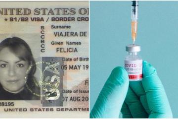 Vacuna contra Covid-19 ya es requisito para solicitar visa de EEUU