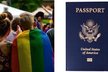 """Estados Unidos permitirá elegir género """"X"""" en pasaporte"""