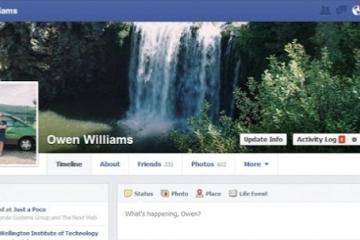 Facebook tests new design in New Zealand