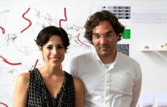 Adriana Cuéllar y Marcel Sánchez