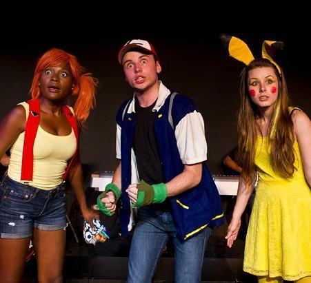 Misty, Ash y Pikachu
