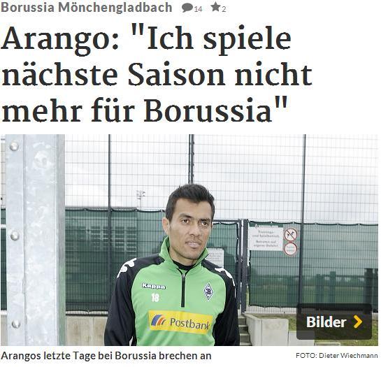 """""""Yo no juego la próxima temporada en el Borussia"""". Foto: RP"""