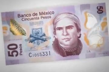 Introducing the new 50 pesos mexican bill