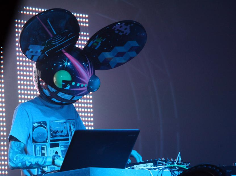 Deadmau5, Dj canadiense de música house.