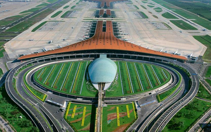 The third terminal in Beijing, designed by Foster and Partners.