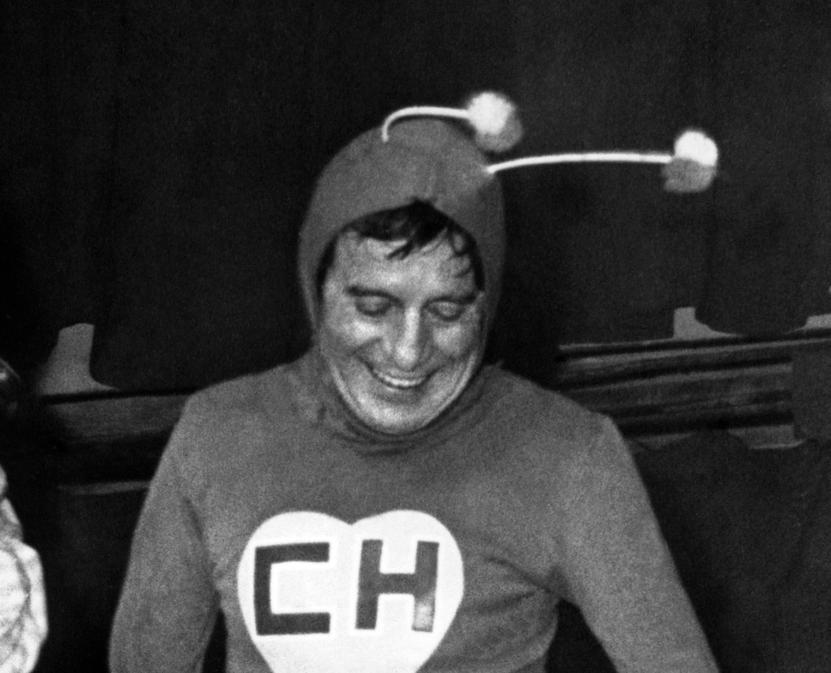 Chapulín Colorado, one of Chespirito's most famous creations.