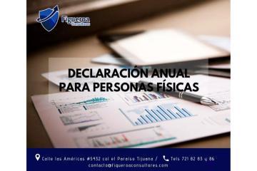 Declaración Anual Para Personas Físicas