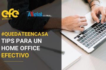 Webinar - #QuédateEnCasa ¡Tips para un home-office efectivo!