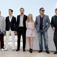 El elenco de Dos Tipos Peligrosos en el photocall de Cannes 2016