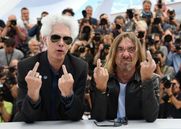 Jim Jarmusch e Iggy Pop en Cannes 2016