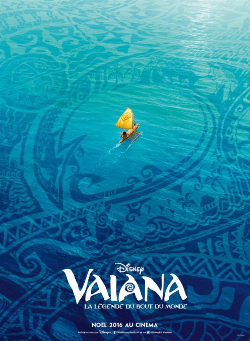 Moana: Un Mar de Aventuras (Póster Internacional)