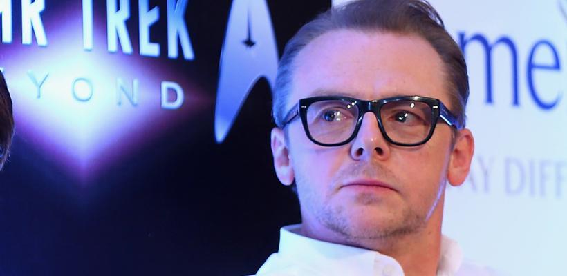 Simon Pegg responde a las críticas de George Takei sobre Sulu