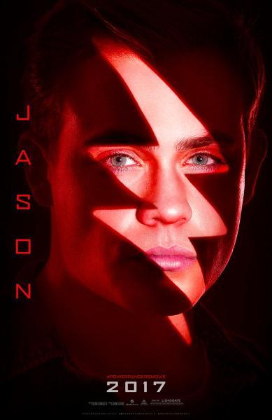 Dacre Montgomery es Jason, el Ranger rojo