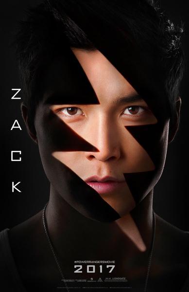 Ludi Lin es Zack, el Ranger negro