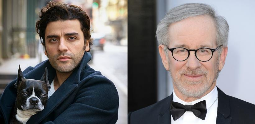Oscar Isaac y Steven Spielberg trabajarán juntos