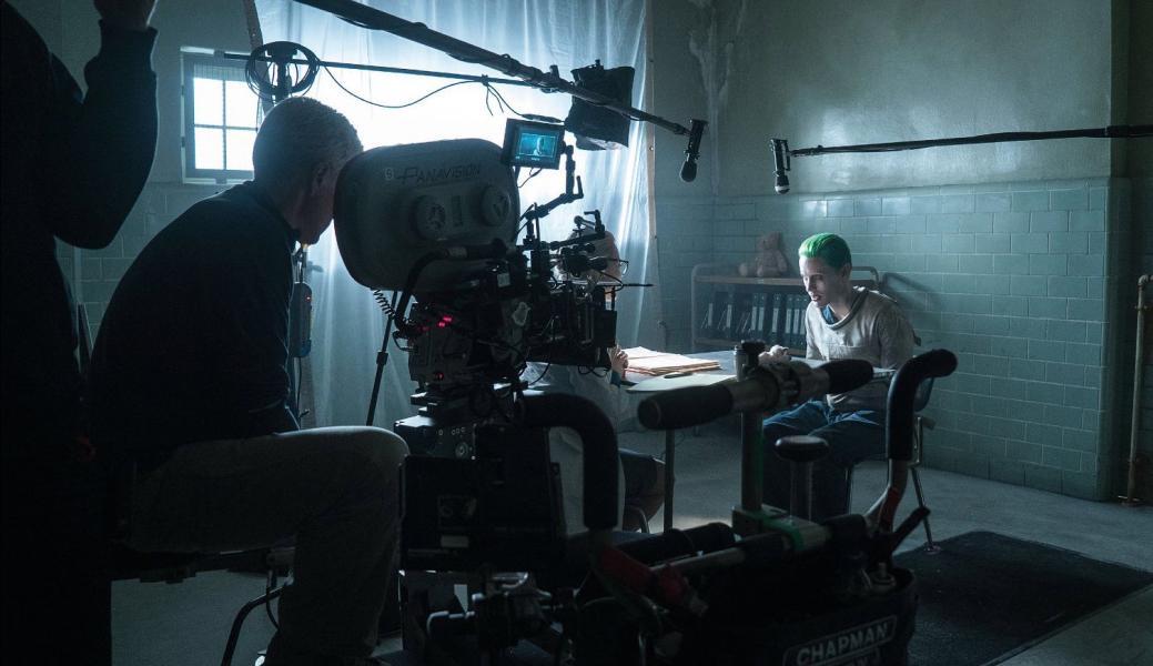 Jared Leto durante la filmación de Escuadrón Suicida
