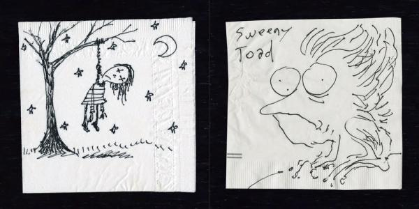 Boceto de Sweeney Todd