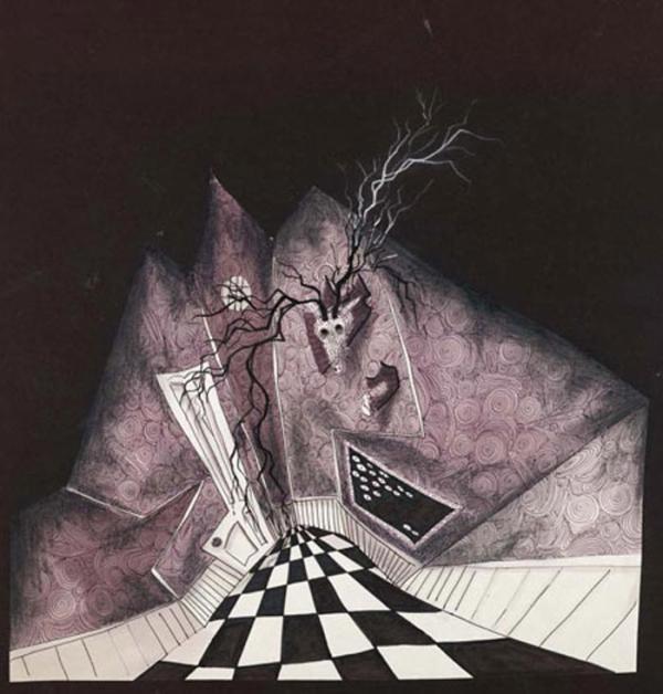 Dibujo de Tim Burton