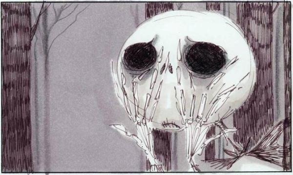 Dibujo de El extraño mundo de Jack