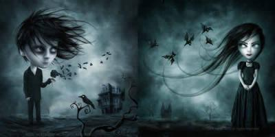 Tim Burton, el ilustrador: de Beetlejuice a El joven manos de Tijera