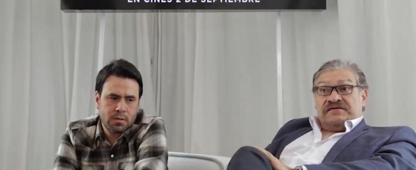 La delgada línea amarilla: entrevista con Joaquín Cosío y Celso García