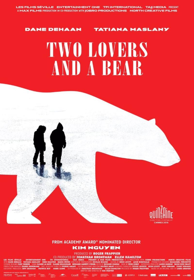 Poster Two Lovers and a Bear (2016)