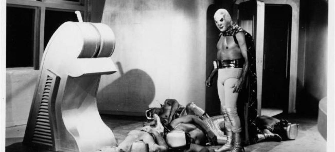 Resultado de imagen para el santo vs la invasion de los marcianos