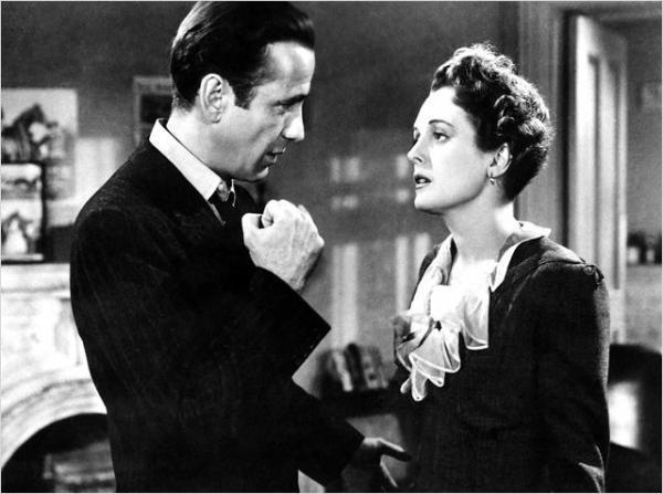 Bogar y Mary Astor