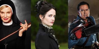 Series de horror para ver este fin de semana: American Horror Story, Penny Dreadful y Ash vs Evil Dead