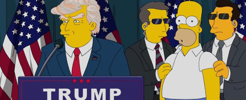 Los Simpson (Temporada 25) - Clip: Trumptastic Voyage
