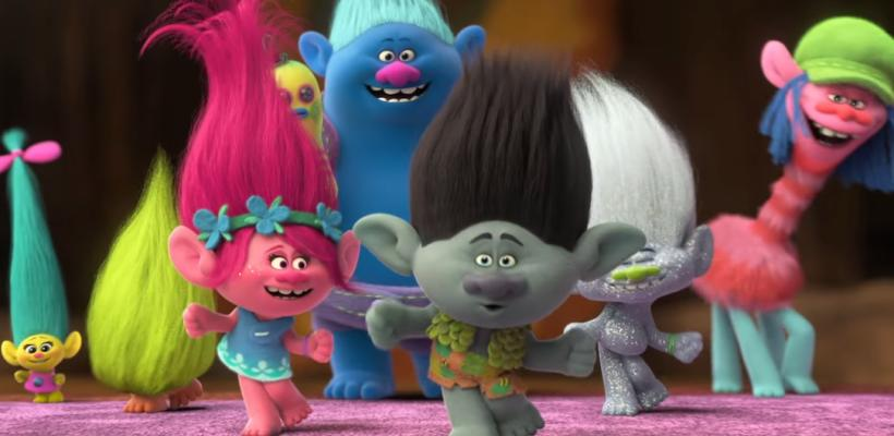¡Te regalamos súper cobijas con pelos de Trolls!