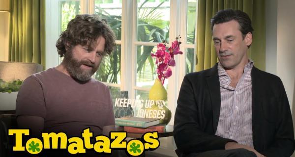 Espiando a los Vecinos - Entrevista: Jugando con Zach Galifianakis y Jon Hamm