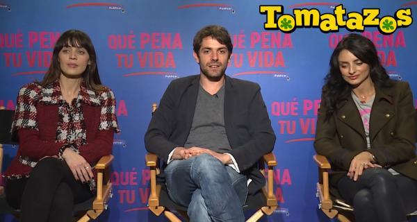 Qué Pena tu Vida: Entrevista con Ilse Salas, José María de Tavira y Aislinn Derbez.