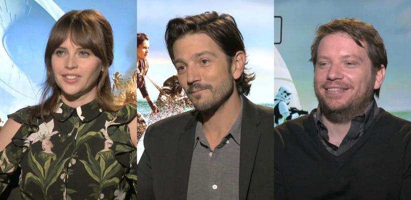 ENTREVISTA: Felicity Jones, Diego Luna, Gareth Edwards y el elenco de Rogue One nos hablan de sus aventuras en la película