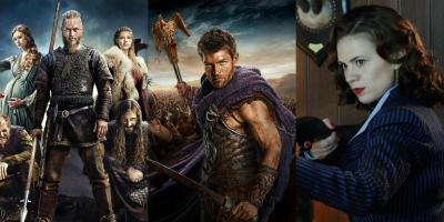 Series para ver este fin de semana: Vikings, Spartacus y Agent Carter