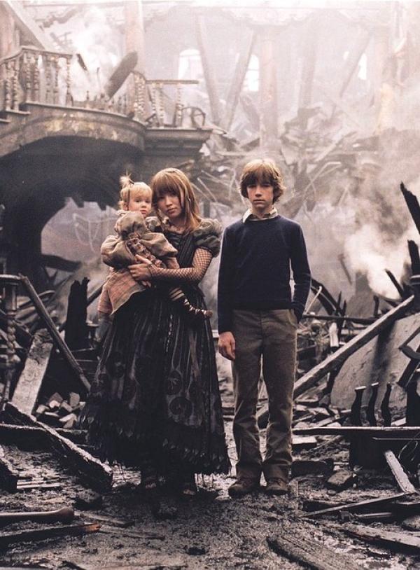 Fotograma de la película, Una serie de eventos desafortunados