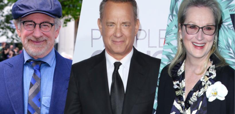 Steven Spielberg prepara nueva película con Meryl Streep y Tom Hanks