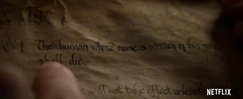 Primer avance de Death Note de Netflix