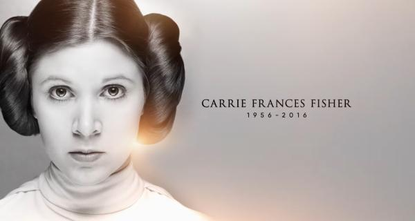 Star Wars Celebration 2017 - Tributo a Carrie Fisher