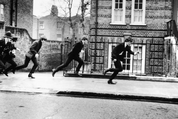 The Beatles en A hard day's night