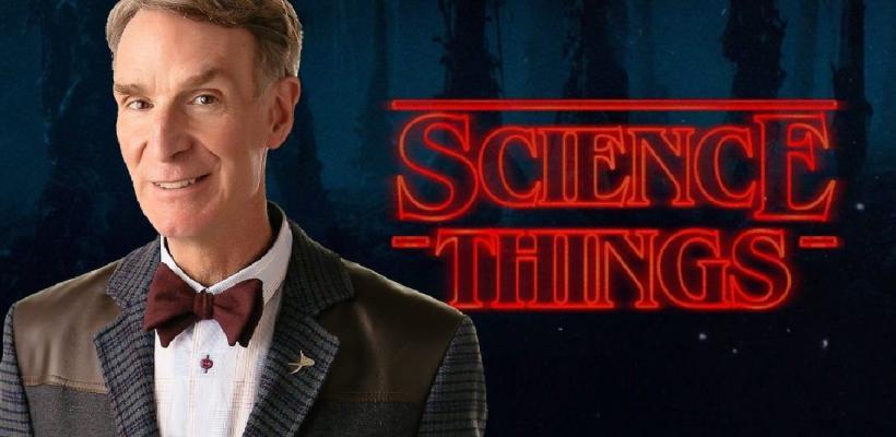 Bill Nye vs Stranger Things