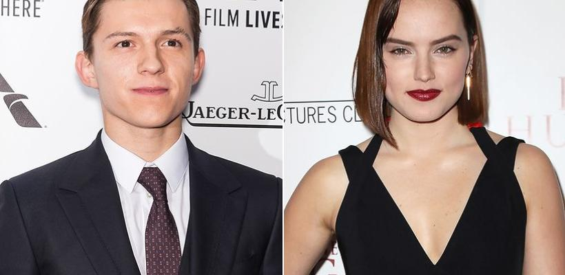 Daisy Ridley y Tom Holland van a Cannes con su película Chaos Walking